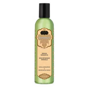 Naturals Massage Oil - Vanilla Sandalwood  8 Fl. Oz.
