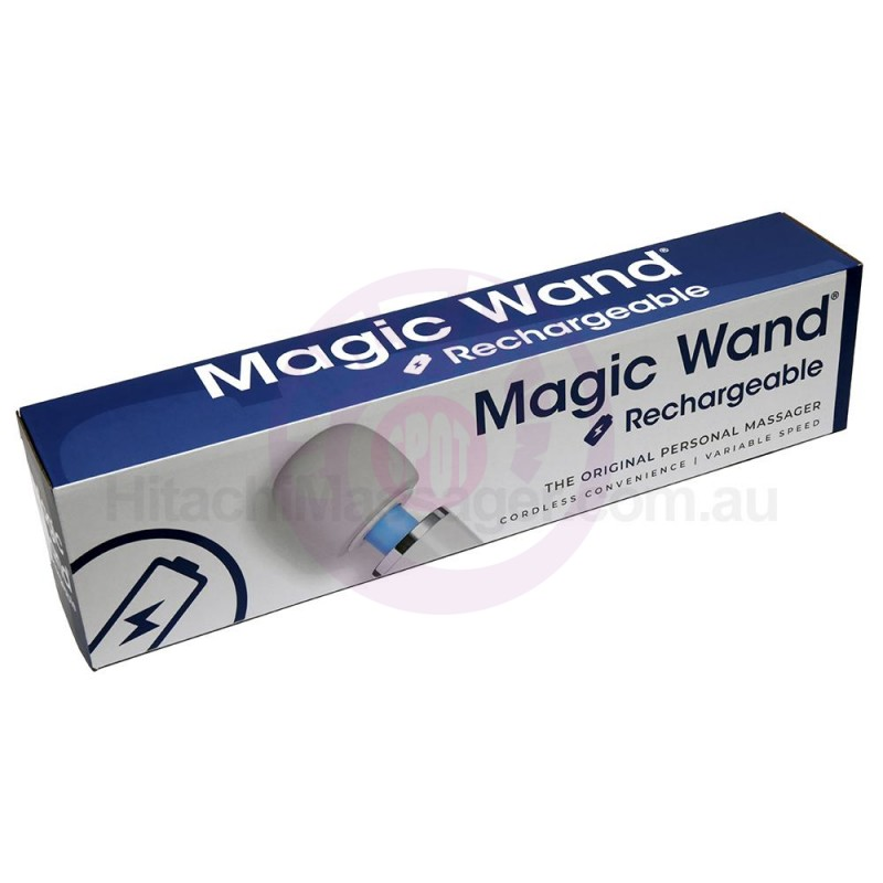 Magic Wand Rechargeable - White