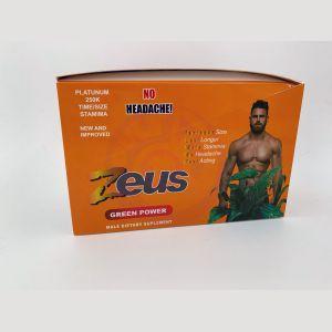 Zeus Green Power Male Sexual Enhancement 24 Count  Display