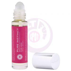 Pure Instinct Pheromone Perfume Oil for Her - Roll on 10.2 ml | 0.34 Fl. Oz