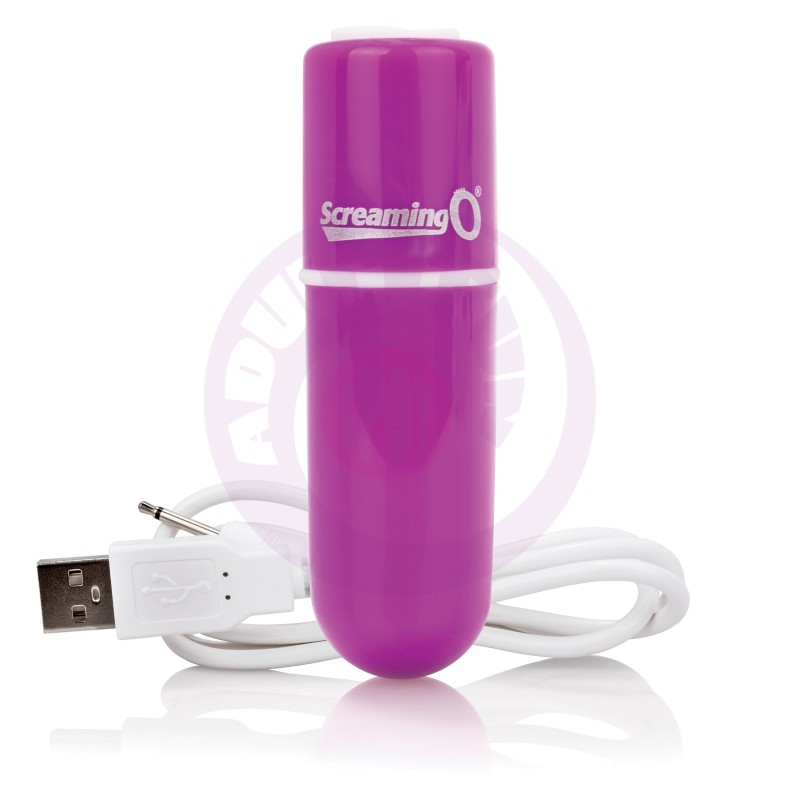 Charged Vooom Rechargeable Bullet Vibe - Purple