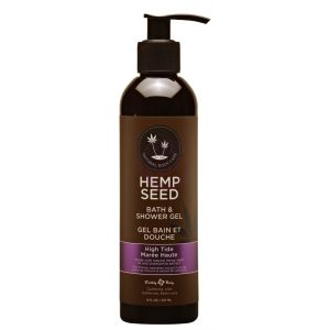 Hemp Seed Bath and Shower Gel - High Tide - 8 Oz./ 237ml