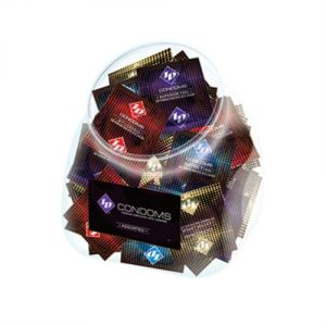 ID Condoms - Assorted - 144 Piece Jar