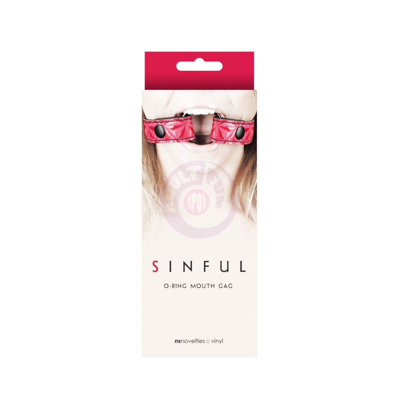 Sinful - O-Ring Mouth Gag - Pink