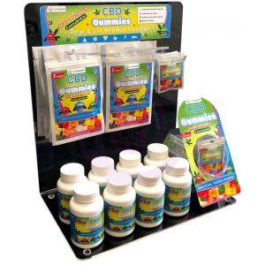 420 Health Gummies Acrylic Display