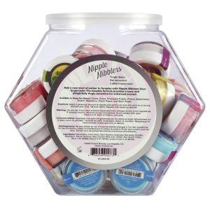 Nipple Nibbler Sour Tingle Balm Assorted - 36 Pc. Bowl - 3g Jar