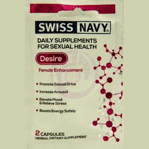 Swiss Navy Desire Female Enhancement - 2 Ct Single Pack