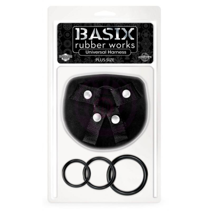 Basix Rubber Works Universal Harness - Plus Size
