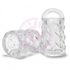 Gripper Nipple Sucker Atomic Jock - Clear