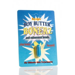 Boy-Agra Boy Butter Bonerz - Male Enhancement Formula - 1 Blister Pack