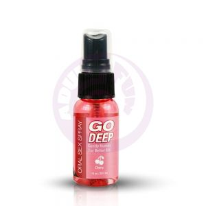 Go Deep Oral Sex Spray - Cherry 1 Fl. Oz./ 29 ml
