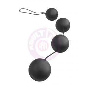 Anal Fantasy Collection Deluxe Vibro Balls - Black