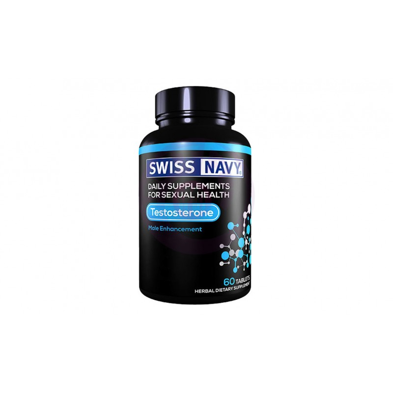 Swiss Navy Testosterone Male Enchancement - 60 Ct