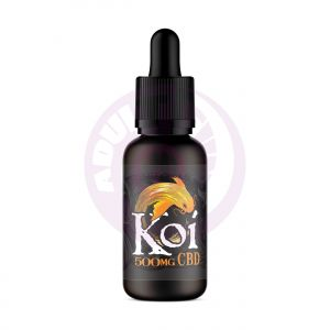 Gold Koi - Vanilla Caramel Custard - 500mg