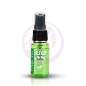 Go Deep Oral Sex Spray - Mint 1 Fl. Oz./ 29 ml