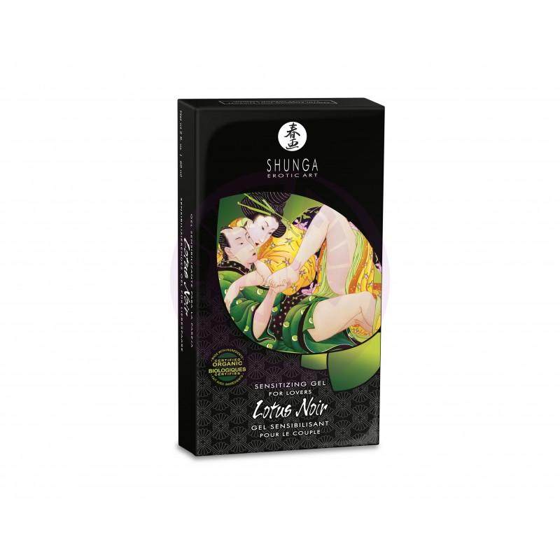Lotus Noir - Sensitizing Gel for Lovers - 2 Fl.  Oz. / 60 ml