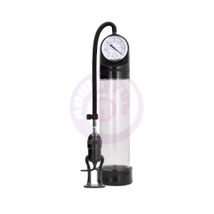 Deluxe Pump With Advanced Psi Gage - Black