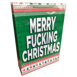 Merry Fucking Christmas - Large Gift Bag