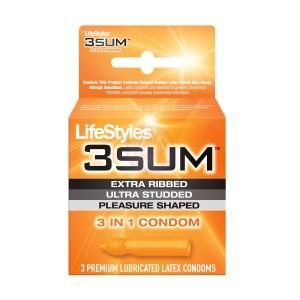 Lifestyles 3 Sum - 3 Pack Condoms