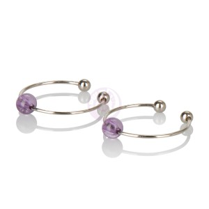 Intimate Play Nipple & Clitoral Non-Piercing Jewelry - Amethyst