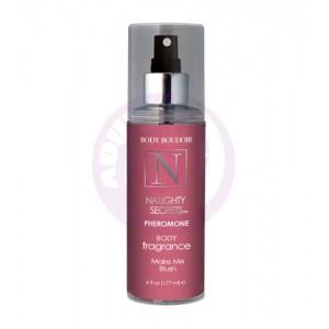 Naughty Secrets Pheromone Body Fragrance - Make Me Blush - 6 Oz.