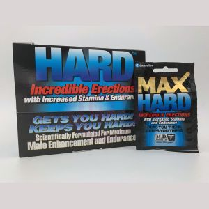 Max Hard XXX - 24 Packet Display