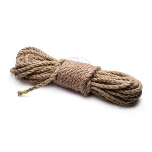 Sub-Tied Hemp Bondage Rope -10m