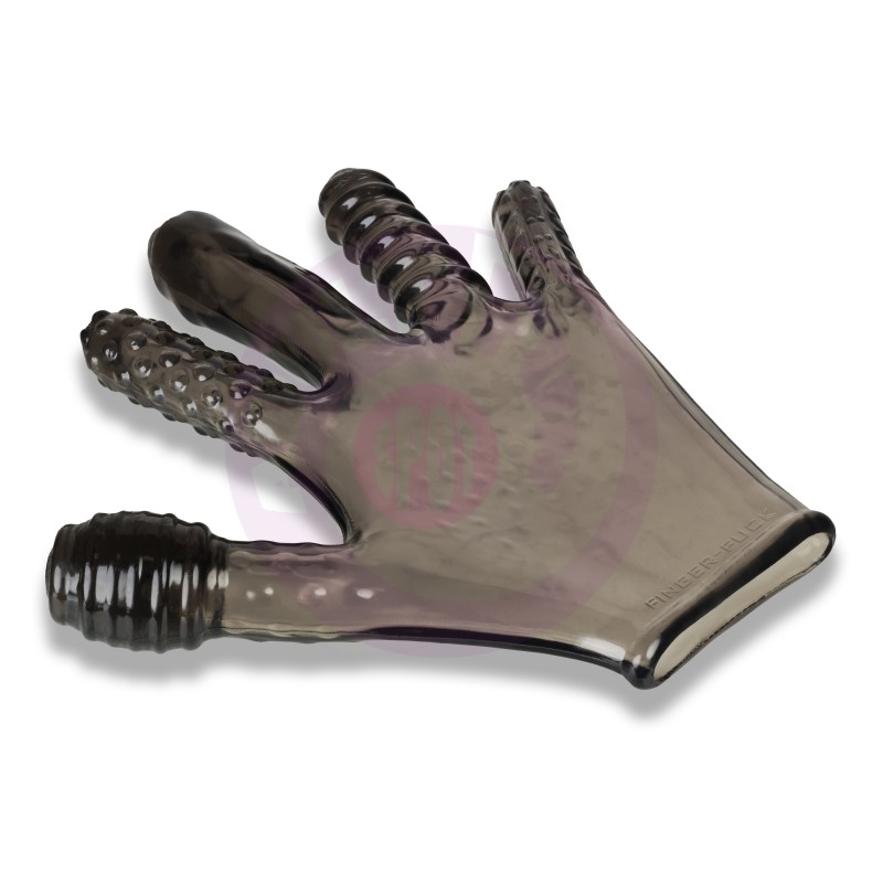 Finger- Fuck Reversible Jo & Penetration Toy -  Smoke
