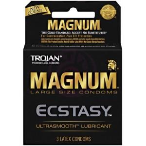Trojan Magnum Ecstasy - 3 Pack