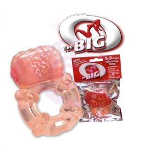 The Big O - Multi-Speed Vibrating Ring - 12 Count Box