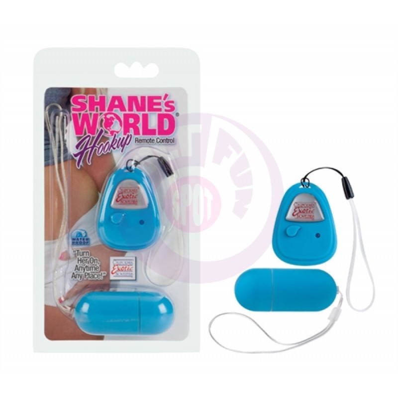 Shanes World Hookup Remote Control - Blue