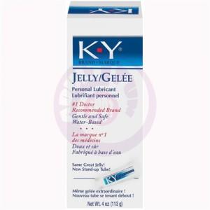 K-Y Jelly 4 Oz Tube - Large