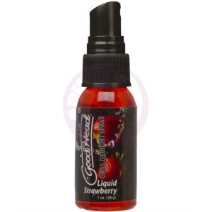 Good Head Oral Delight Spray 1 Oz  - Liquid Strawberry