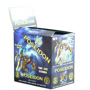Poseidon Platinum 3500 Male Performance  Enhancer - 25 Ct Display