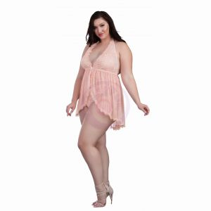 Babydoll - Queen Size - Pink