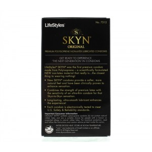 Lifestyles Skyn Lubricated Condoms - 12 Pack