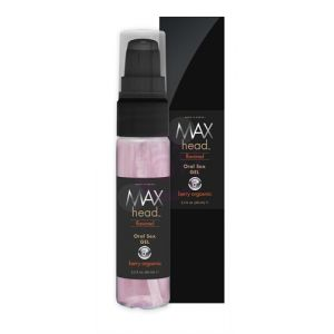 Max 4 Men Max Head Flavored Oral Sex 2.2 Oz - Berry Orgasmic