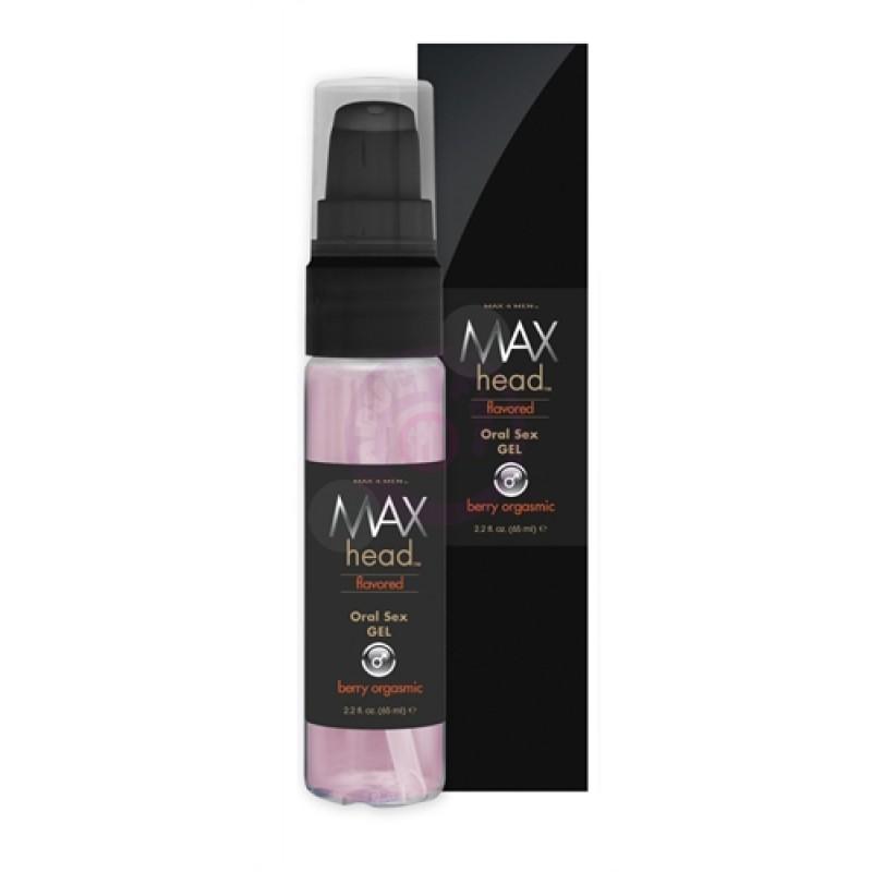 Max 4 Men Max Head Flavored Oral Sex 2.2 Oz - Berry Orgasmic