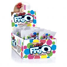 Fingo Tips - 18 Count Pop Box Display - Assorted Colors