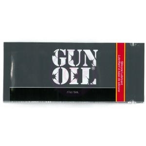 Gun Oil 1.7 Oz. Foil Packets - 50 Piece Bag