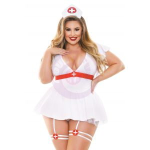 Bedside Nurse Costume Set - 1x2x
