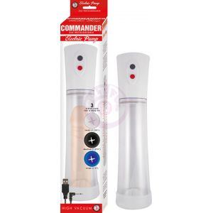 Commander Electric Pump - Clear