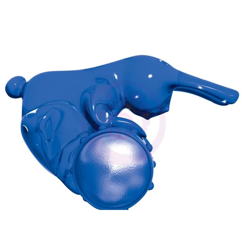 Buzz Bunny Cockring Vibe - Blue