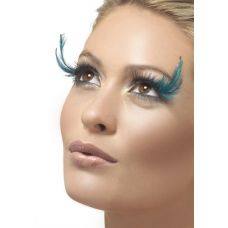 Black-Teal Eyelashes