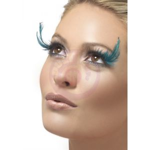 Black Teal Eyelashes