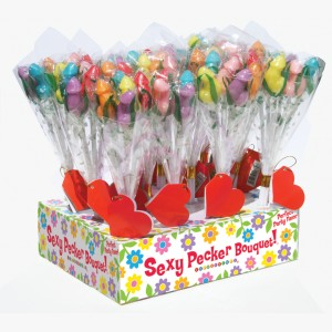 Candy Penis Bouquet - 12 Piece Display