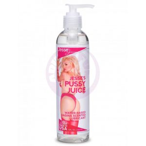 Jesse's Pussy Juice Vagina Scented Lube- 8 Oz