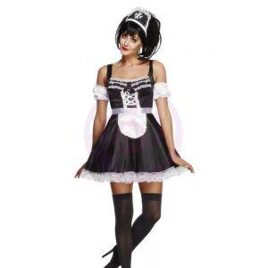Fever Flirty French Maid Costume - Medium