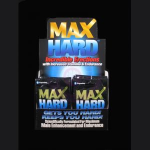 Max Hard XXX - 24 Packet Display