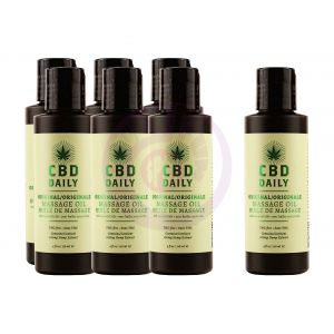Hemp Daily Massage Oil Intro Deal Display W/testers and Shelf Talker